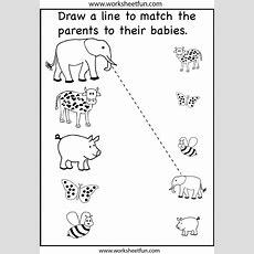 Preschool Matching Worksheet  School!!!  Preschool, Toddler Learning Activities, Preschool