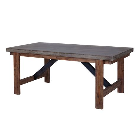 cement top dining table vega dining table concrete top furniture mais on modern