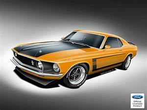 You Can Now Buy an Officially-Licensed, Brand-New 1969 Ford Mustang Boss 429 - The Drive