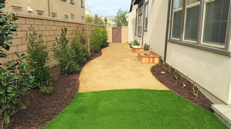 dg landscape dg with turf landscape my smart house