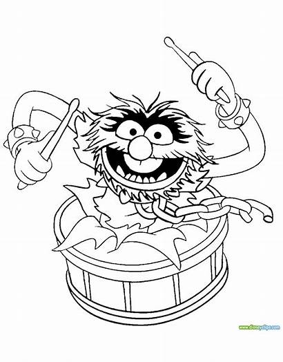 Animal Muppets Muppet Coloring Pages Christmas Babies