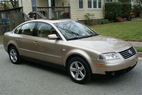 Find Used 2004 Volkswagen Passat Glx 4 Motion Sedan 4-door