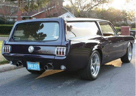 ford mustang meets volvo wagon  marriage
