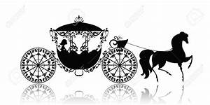 Horse-drawn Carriage clipart cinderella carriage - Pencil ...