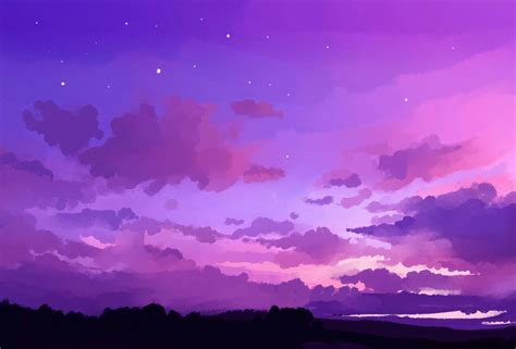 purple aesthetic computer wallpapers