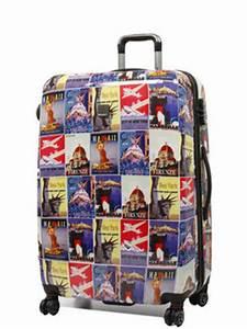 Valise Vintage Pas Cher : valise saxoline vintage poster 77 cm valise rigide 4 roues saxoline vintage poster 77 cm pas cher ~ Teatrodelosmanantiales.com Idées de Décoration