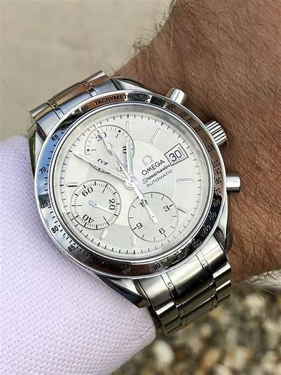 Omega Speedmaster Automatic Dial Reduced Face Chronograph