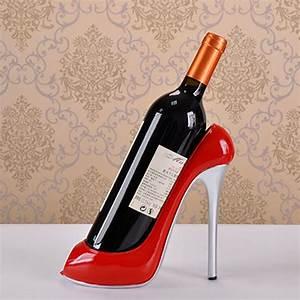 High Heel Shoe Wine Bottle Holder Wine Rack Accessories