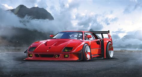 34 Ferrari F40 Hd Wallpapers  Background Images