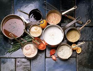 The Five Basic Mother Sauces of French Cuisine