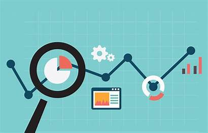 Improvement Data Measuring Results Digital Marketing Vector