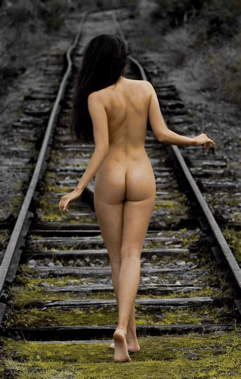 Walking Along Rail Tracks BluWiz