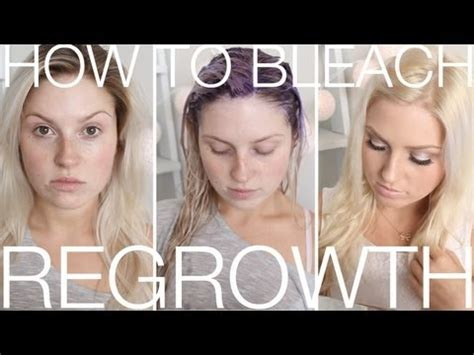 DIY Blonde Roots ♡ How To Touch Up Regrowth At Home! Dye