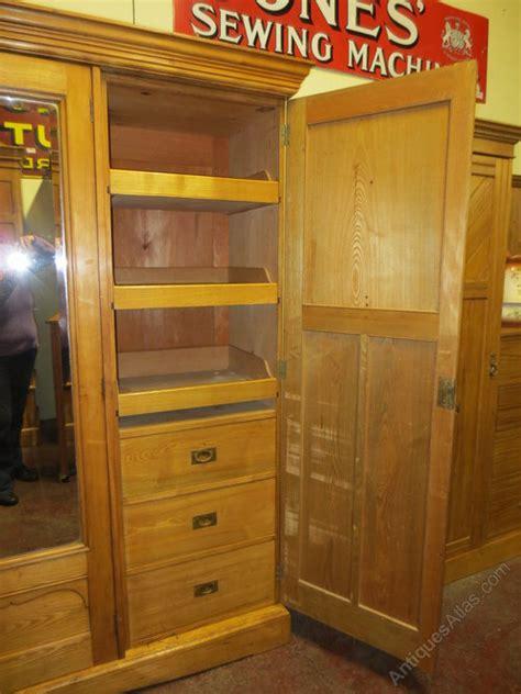 ash combination wardrobe antiques atlas