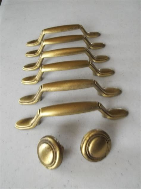 contemporary drawer pulls 6 modern style brushed brass 3 quot mount drawer pulls 2