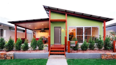 image of house design pictures shed skillion roof on a modern house with green wood