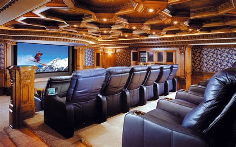 home theatre interior luxury home theater wallpapers and images wallpapers