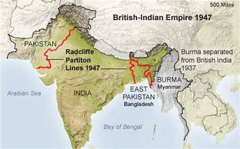radcliffe   divide india pakistan  formed