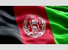 Afghanistan Flag Loop 2 Stock Footage Video 1369657