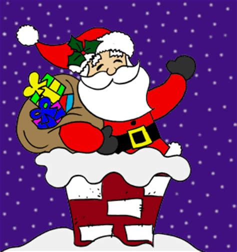 santa claus cartoon photos