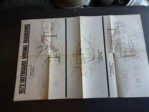 1972 Johnson Evinrude Outboard Motor Wiring Diagram Poster
