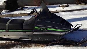 1978 Artic Cat Jag 3000 Free Air Snowmobile Sled