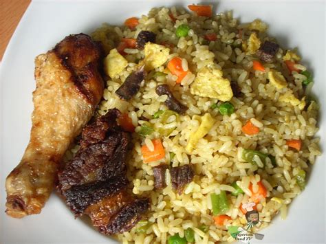 Food Recipes : Nigerian Egg Fried Rice