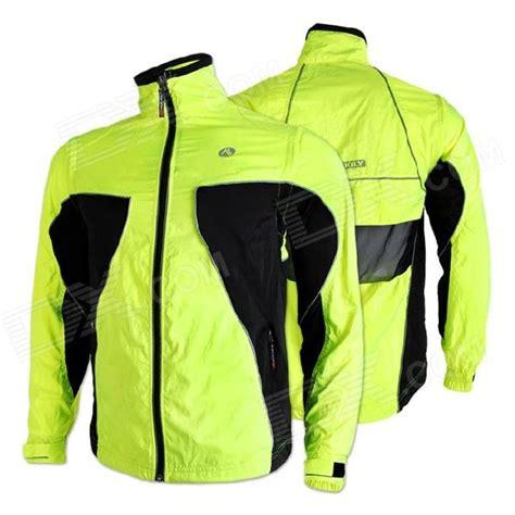 fluorescent bike jacket nuckily ny0921 outdoor sports reflective windproof cycling