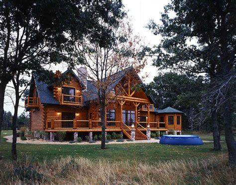 modern log cabin golden eagle log homes