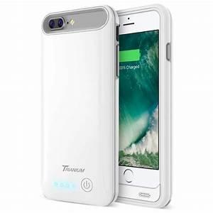 Atomic Pro Battery Case For Iphone 7 Plus  U2013 White  Grey