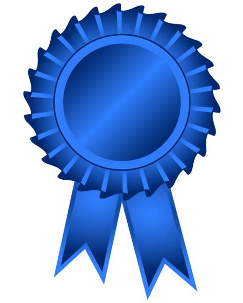 Blue Ribbon Clip 1st Place Ribbon Clipart Clipart Suggest