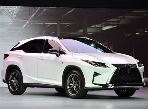 2016 Lexus Rx 450h Hybrid Makes A Bold Statement At The
