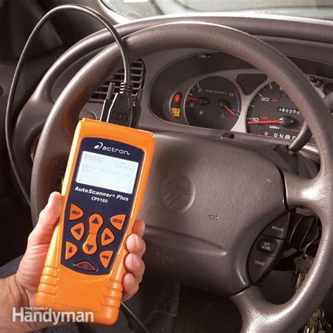 Car Computer by Using A Vehicle Diagnostic Code Reader The Family Handyman