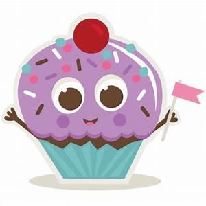 Birthday Cupcake SVG cut files for scrapbooking birthday ...