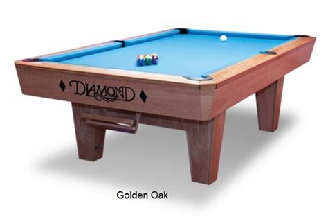 diamond professional oak wood pool table