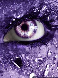 Purple Diamond Eye
