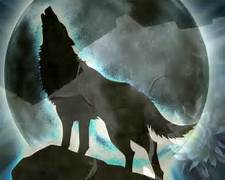 Anime Wolf Howling At The Moon Wallpaper 39 S Rain Howl To