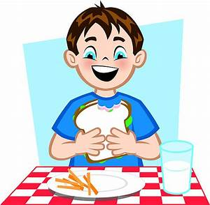 Sandwich clipart kid food - Pencil and in color sandwich ...