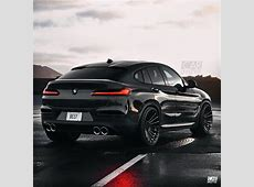 2019 BMW X4 M Rendered in Black, Debut Imminent