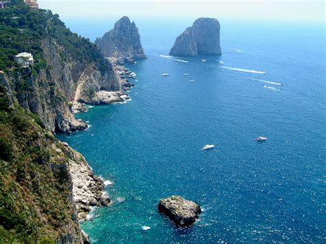 Places To Eat On Capri Travel Across Italy