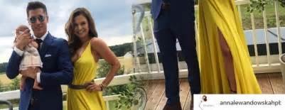 anna lewandowska na weselu lewandowscy z klarą na weselu internauci nie mogą wybrać