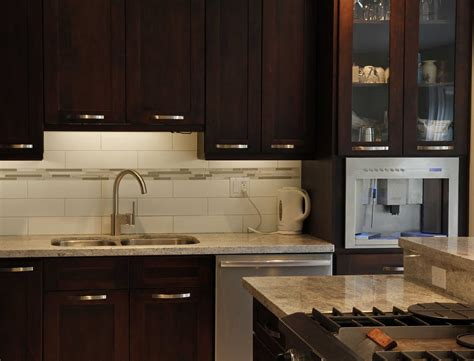 espresso kitchen cabinets with backsplash sweet mahogany veneer espresso kitchen cabinets with white