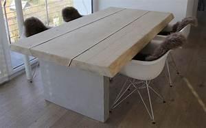 Beton Tisch Diy : maintisch beton tisch betontisch masstisch schreibtisch ~ A.2002-acura-tl-radio.info Haus und Dekorationen