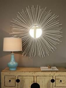 Diy home decor stylish sunburst mirror crafts mom