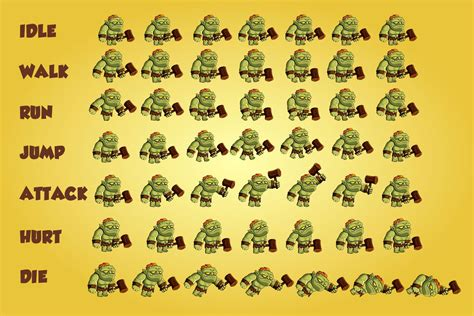 2d orcs free character sprite craftpix net