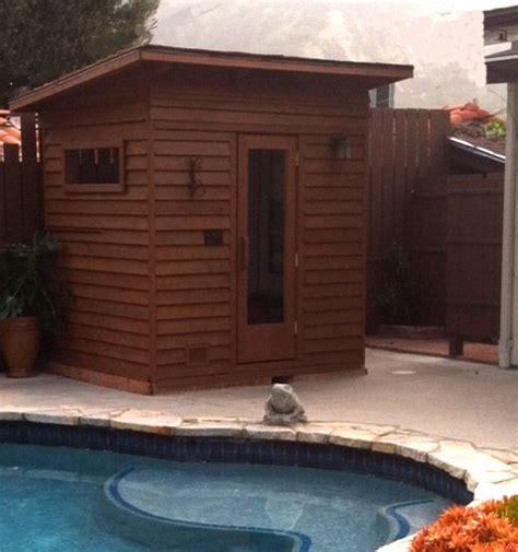 outdoor sauna kit heater accessories roof