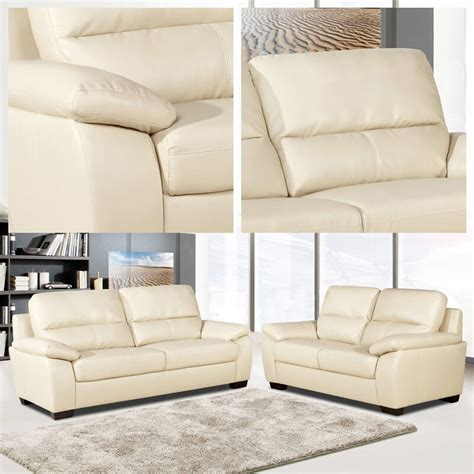 two seater settees leather artena 3 2 seater sofas ivory leather two