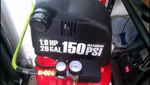 Harbor Freight Find 26 Gallon Air Compressor
