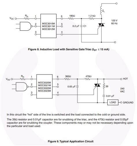 How Drive Triac From Microcontroller For Low