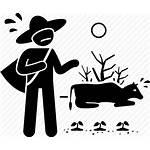 Problem Icon Dry Season Drought Global Nino